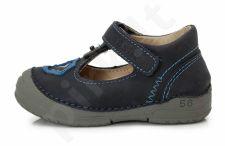 D.D. step juodi batai 19-24 d. 038242u