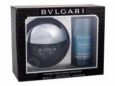 Bvlgari Aqva Pour Homme, rinkinys tualetinis vanduo vyrams, (EDT 100 ml + pieštukinis dezodorantas 75 ml)