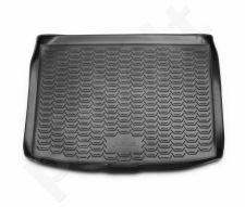 Guminis bagažinės kilimėlis NISSAN Juke 2WD 2014-> (upper boot) black /N28005