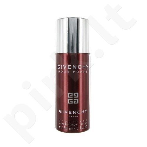 Givenchy Pour Homme, 150ml, dezodorantas, vyrams