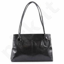 DAN-A T76 juoda rankinė iš natūralios odos , moteriška