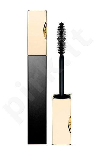 Clarins Truly atsparus vandeniui blakstienų tušas, kosmetika moterims, 7ml, (01 Intense Black)