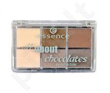 Essence All About Chocolates akių šešėliai, kosmetika moterims, 8,5g, (05 Chocolates)