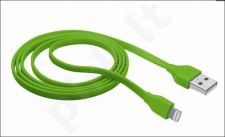Flat Lightning Cable 1m - lime