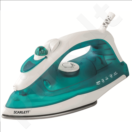 Scarlett SC-SI30S01 Steam Iron, GlissAir soleplate, Steam ironing, Spraying, Self-clean function, Blue