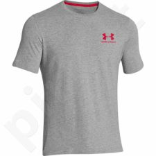 Marškinėliai treniruotėms Under Armour Charged Cotton® Sportstyle Left Chest Logo T-shirt 1257616-090