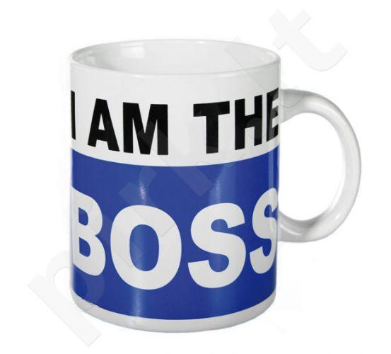 """Milžiniškas puodelis """"I am the BOSS"""""""