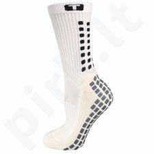 Kojinės futbolininkams Trusox Mid - Calf Cushion baltas