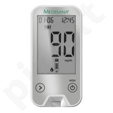 Gliukozės kiekio kraujyje matuoklis Medisana MediTouch 2 (mg/dl) 79044