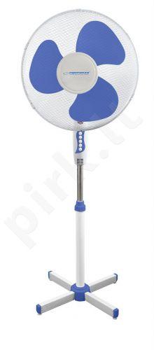 ESPERANZA EHF001WB ventiliatorius balta / mėlyna