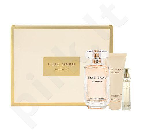 Elie Saab Le Parfum, rinkinys kvapusis vanduo moterims, (EDP 90ml + 10ml EDP + 75ml kūno losjonas)