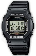Laikrodis CASIO G-SHOCK DW-5600E-1E Shock Resistant. Digital. Multifunction. Daily . Stop . Countdown timer. WR 200mt **ORIGINAL BOX**