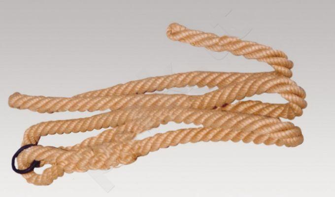 Lipimo virvė pagaminta iš džuto pluošto storis 32m