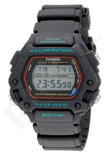 Laikrodis CASIO G-SHOCK DW-290-1 Shock Resistant. Digital. Multifunction. Daily . Stop . Countdown timer. WR 100mt **ORIGINAL BOX**
