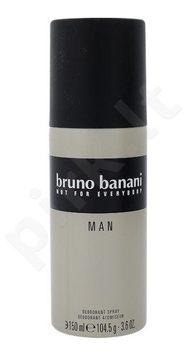 Bruno Banani Man, dezodorantas vyrams, 150ml
