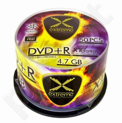 DVD+R Extreme [ cake box 50 | 4.7GB | 16x ]