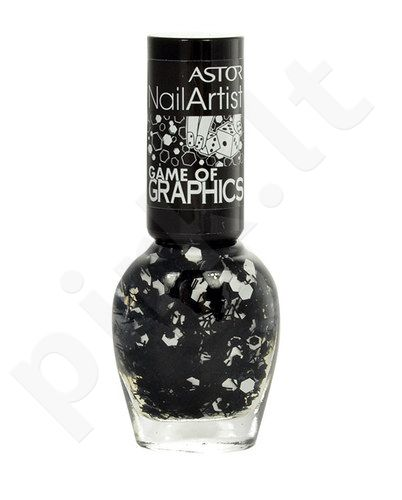 Astor Nail Artist, kosmetika moterims, 6ml, (3260E Game Of Graphics Polish)