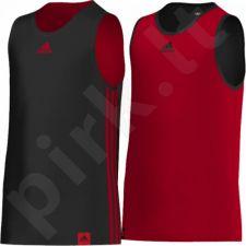 Marškinėliai krepšiniui adidas Team Reversible Jer Junior G90296