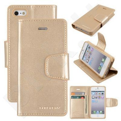 Apple iPhone 5 dėklas SONATA Mercury auksinis