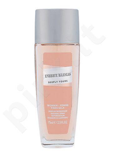 Enrique Iglesias Deeply Yours, dezodorantas moterims, 75ml