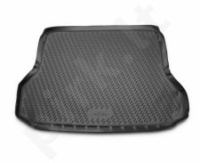 Guminis bagažinės kilimėlis NISSAN X-Trail 2013-> black /N28038
