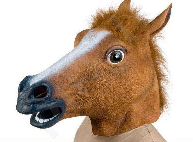 """Kaukė """"Arklys"""""""