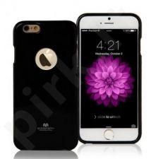 Apple iPhone 6/6S  Plus dėklas JELLY hool Mercury juodas