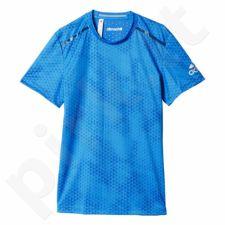 Marškinėliai treniruotėms Adidas Climachill Tee Graphic M AI8318