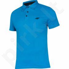 Marškinėliai polo 4f M H4L17-TSM013 mėlyna