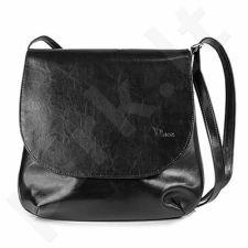 DAN-A T92 juoda rankinė iš natūralios odos , moteriška