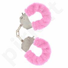 Antrankiai su rožiniu kailiuku