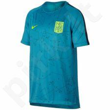 Marškinėliai futbolui Nike Neymar B NK Dry SQD Top SS GX Junior 859880-437