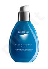 Biotherm Aquasource Nuit Hydrating Jelly, 50ml, kosmetika moterims