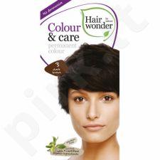 Colour & Care ilgalaikiai plaukų dažai be amoniako  Dark Brown