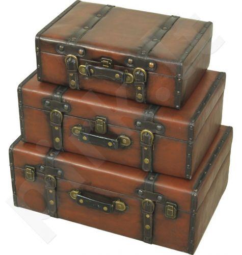 3 lagaminų komplektas 97123