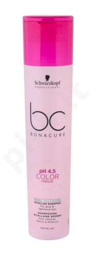 Schwarzkopf BC Bonacure pH 4.5 Color Freeze, Silver, šampūnas moterims, 250ml