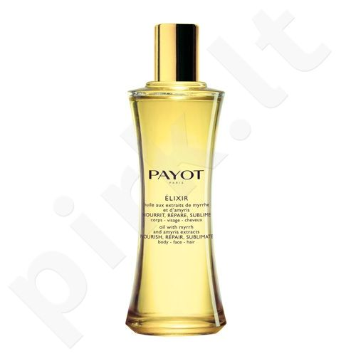 Payot Elixir Body Face Hair Oil, 100ml, kosmetika moterims