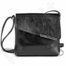 DAN-A T96 juoda rankinė iš natūralios odos , moteriška