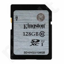 Atminties kortelė Kingston 128GB SDXC Class10 UHS-I Sparta 45MB/s