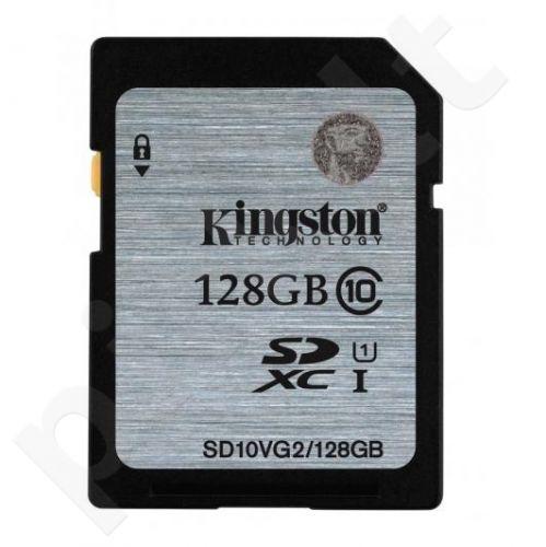Atminties kortelė Kingston 128GB SDXC Class10 UHS-I Sparta 45MB/s