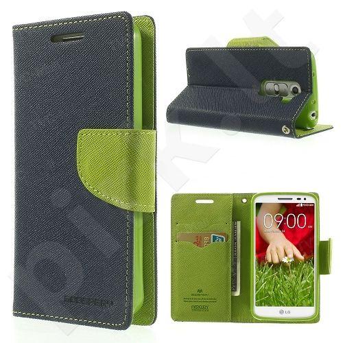 LG G2 mini dėklas FANCY Mercury mėlynas/žalias