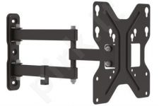 Universal Wall Mount for Monitors,  1xLCD, max. 42'', max. load 30kg,  adjustabl