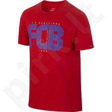 Marškinėliai Nike FC Barcelona Squad Tee M 832776-687