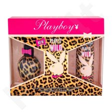 Playboy Play It Wild rinkinys moterims, (EDT 75 ml + dezodorantas 150 ml)
