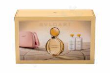 Bvlgari Goldea, rinkinys kvapusis vanduo moterims, (EDP 90 ml + kūno losjonas 75 ml + dušo želė 75 ml + kosmetika krepšys)