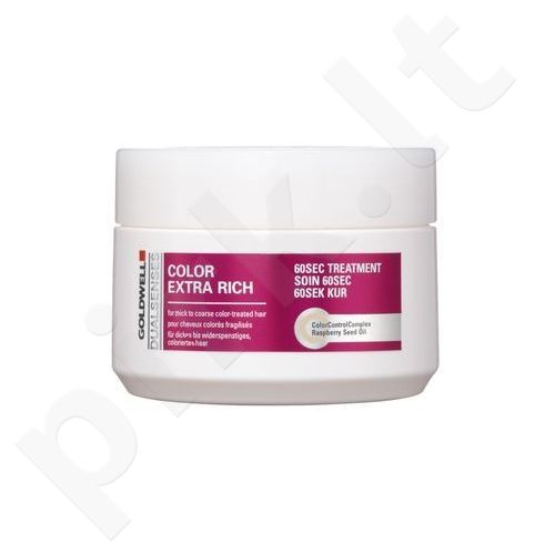 Goldwell Dualsenses Color Extra Rich 60 Sec Treatment, kosmetika moterims, 200ml