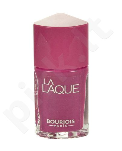 BOURJOIS Paris La Laque nagų lakas, kosmetika moterims, 10ml, (10 Beach Violet)