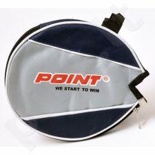 Dėklas stalo teniso raketei POINT B1 tamsiai mėlyna