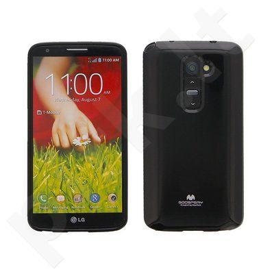 LG G2 mini dėklas JELLY Mercury juodas