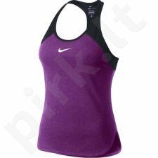 Marškinėliai tenisui Nike Dry Tank Slam W 728719-556